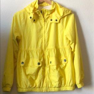 Gap jacket Xl 12 zipper up hooded pockets